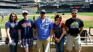 Thurston Inc. Team Heads to a Twins Baseball Outing