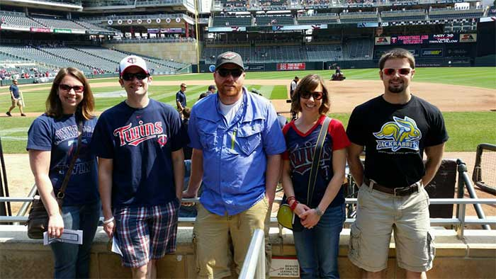 Thurston Inc. at the MN Twins Game